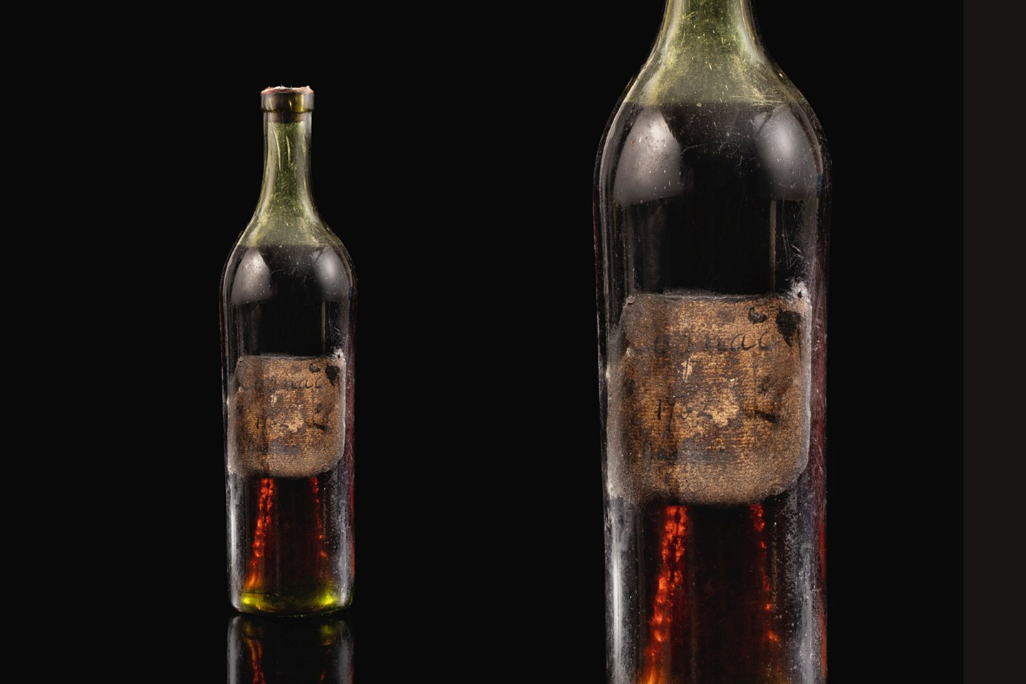 Of the original three bottles of 1762 Gautier Cognac, one sold at auction in 2014 and was subsequently destroyed, one went to the Maison Gautier Museum and this bottle is the sole remaining bottle available to the public. It will sell at auction on May 28, 2020.