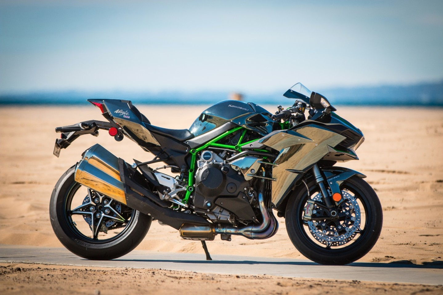 Kawasaki H2: a glorious thing to look at, and even more stunning to twist the throttle on