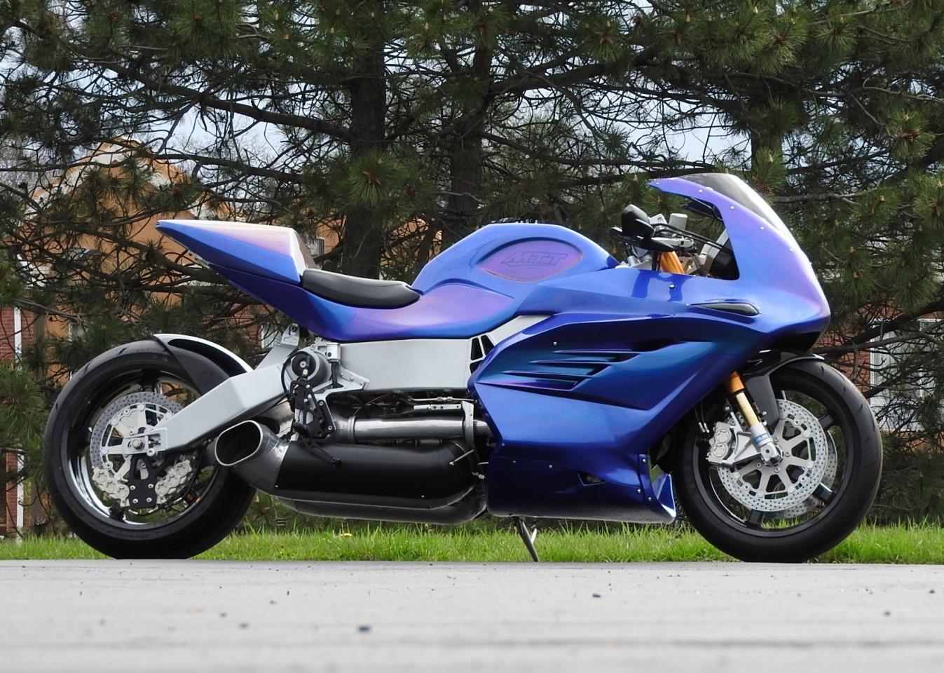 The MTT 420 RR turbine superbike