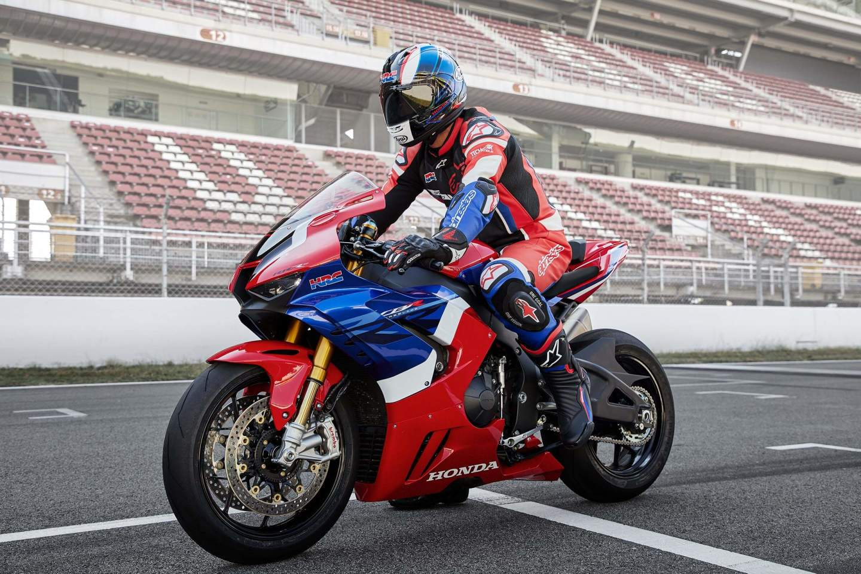 The 2021 Honda CBR1000RR Fireblade SP looks like a very special bike