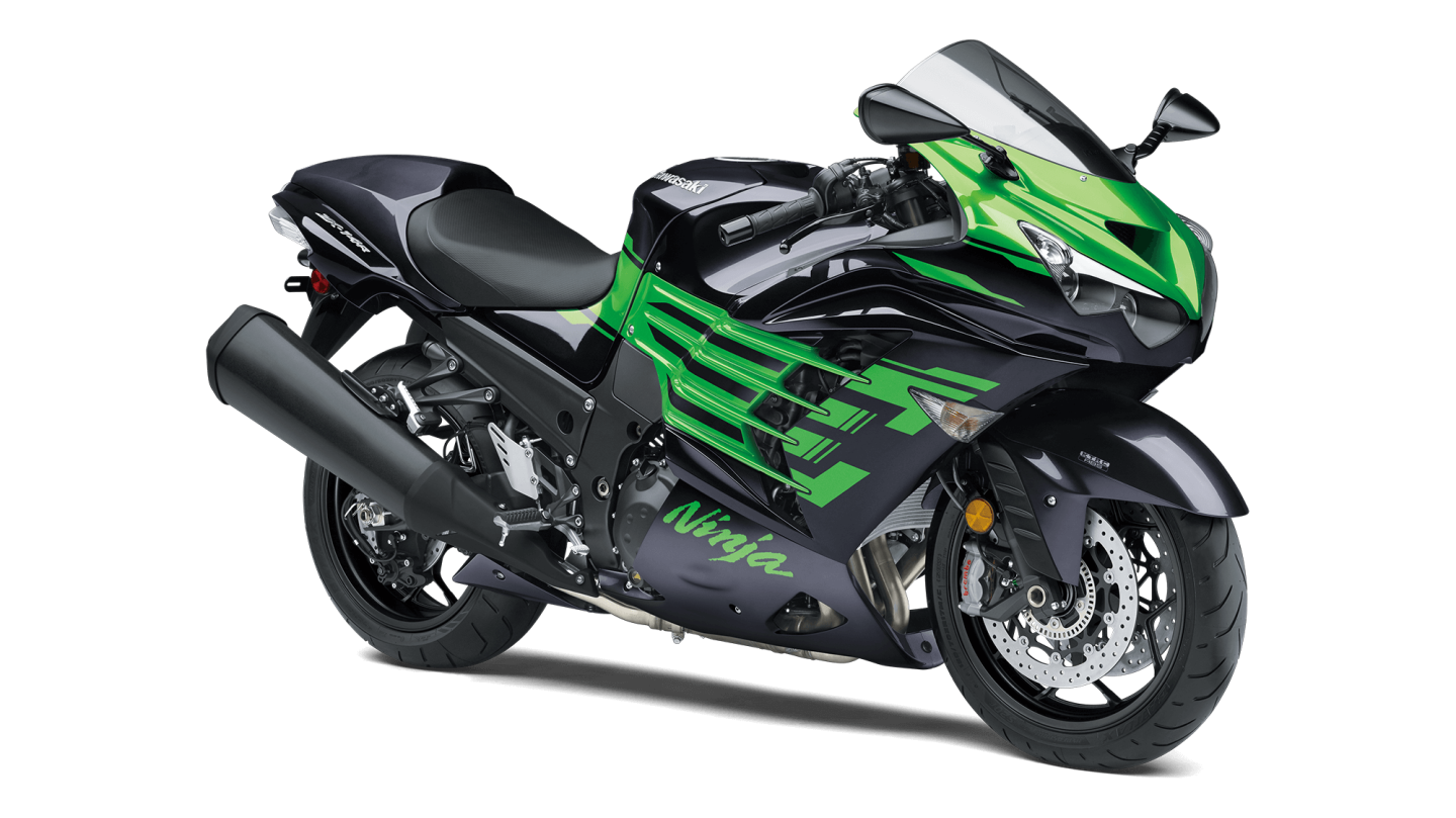 The Kawasaki ZX-14R: a streetbike designed to run easy sub-10 second quarter mile times
