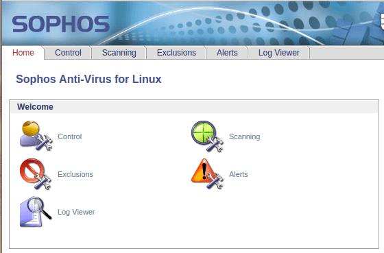Sophos — Alacsony erőforrásigényű ingyenes vírusirtó, egy felhasználónak ingyenes