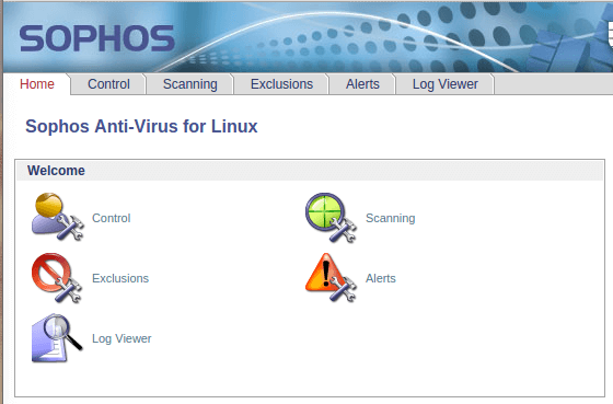 Sophos — Melhor varredura de baixo impacto + Gratuito para um único usuário