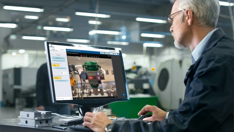 Emerson's Plantweb Optics asset performance platforms adds augmented reality to help improve the effectiveness and productivity of field technicians. Using AR, technicians can more quickly locate assets and access real-time asset health data when in the field. Live remote assistance enhances collaboration and troubleshooting by connecting technicians with experts through AR. When the work is complete, a knowledge library stores records for future use by all engineers at the site.