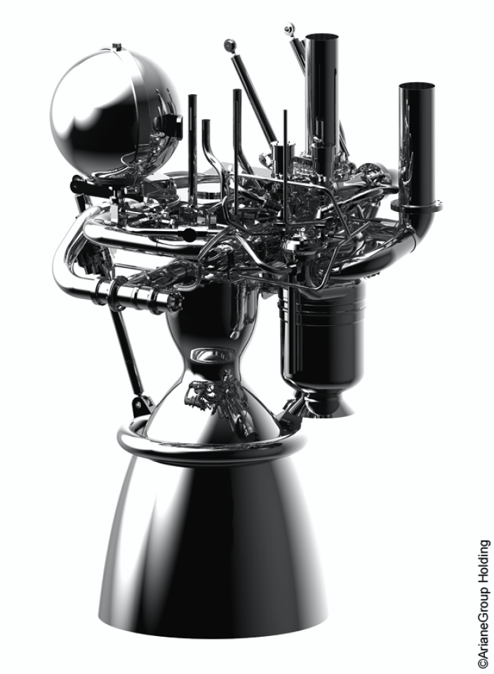 Prometheus is an ultra-low cost reusable rocket engine demonstrator that uses liquid oxygen–methane propellants and will power Europe's future launchers