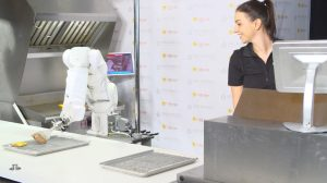 How robots are reinventing food service