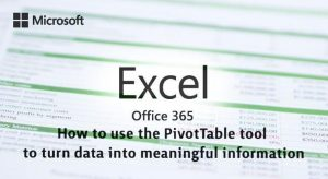 How to use Excel's PivotTable tool to turn data into meaningful information