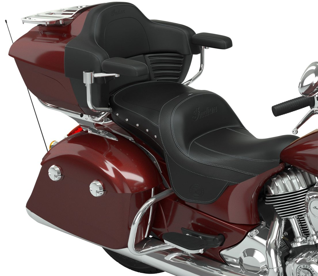 ClimaCommand seats can be fitted to models across the Indian ThunderStroke range