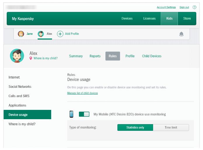Kaspersky Total Security: el mejor por su monitoreo de YouTube + cerca geográfica
