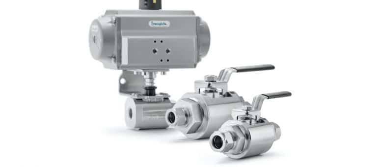 New Swagelok® GB Series Ball Valve Brings Added Safety, Simplified Installation to High-Flow Applications