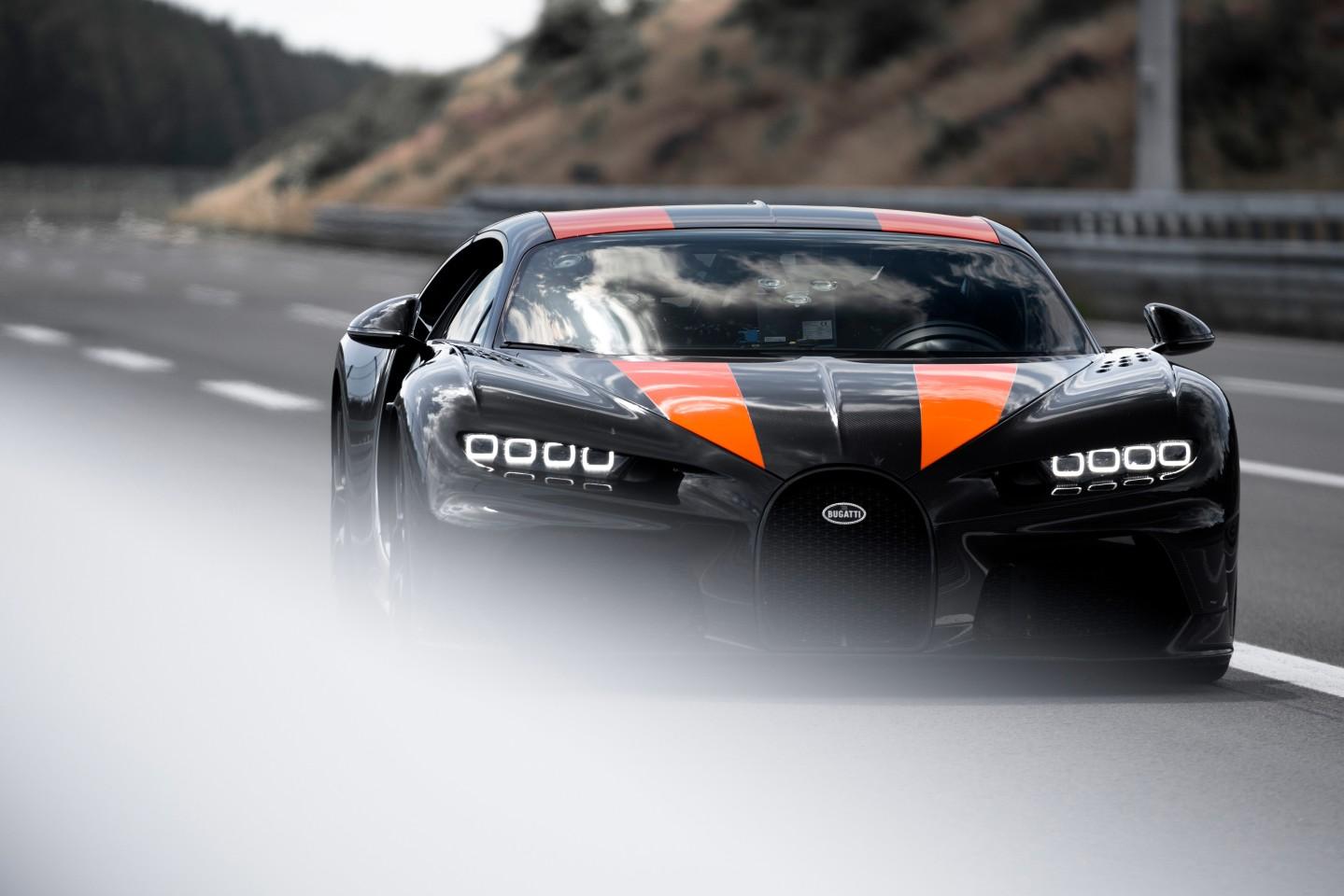 The Bugatti Chiron Super Sport 300+