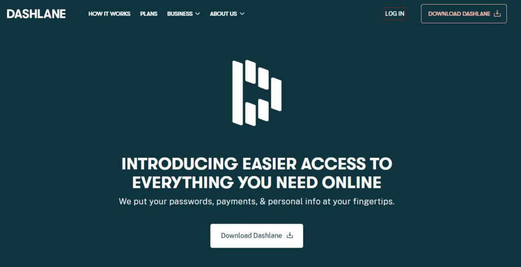 Bonus: Dashlane — Great Additional Features but Limited Storage