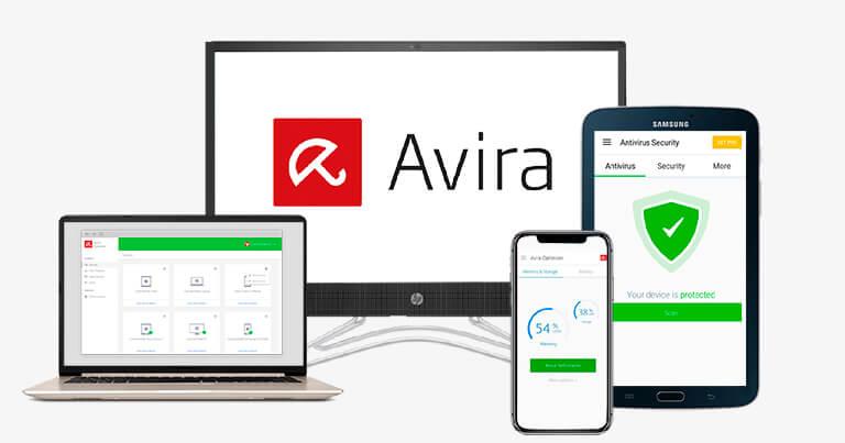 Avira Free Antivirus — najlepszy dla bezpieczeństwa internetowego