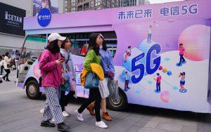 China operators pass 100M 5G subscribers