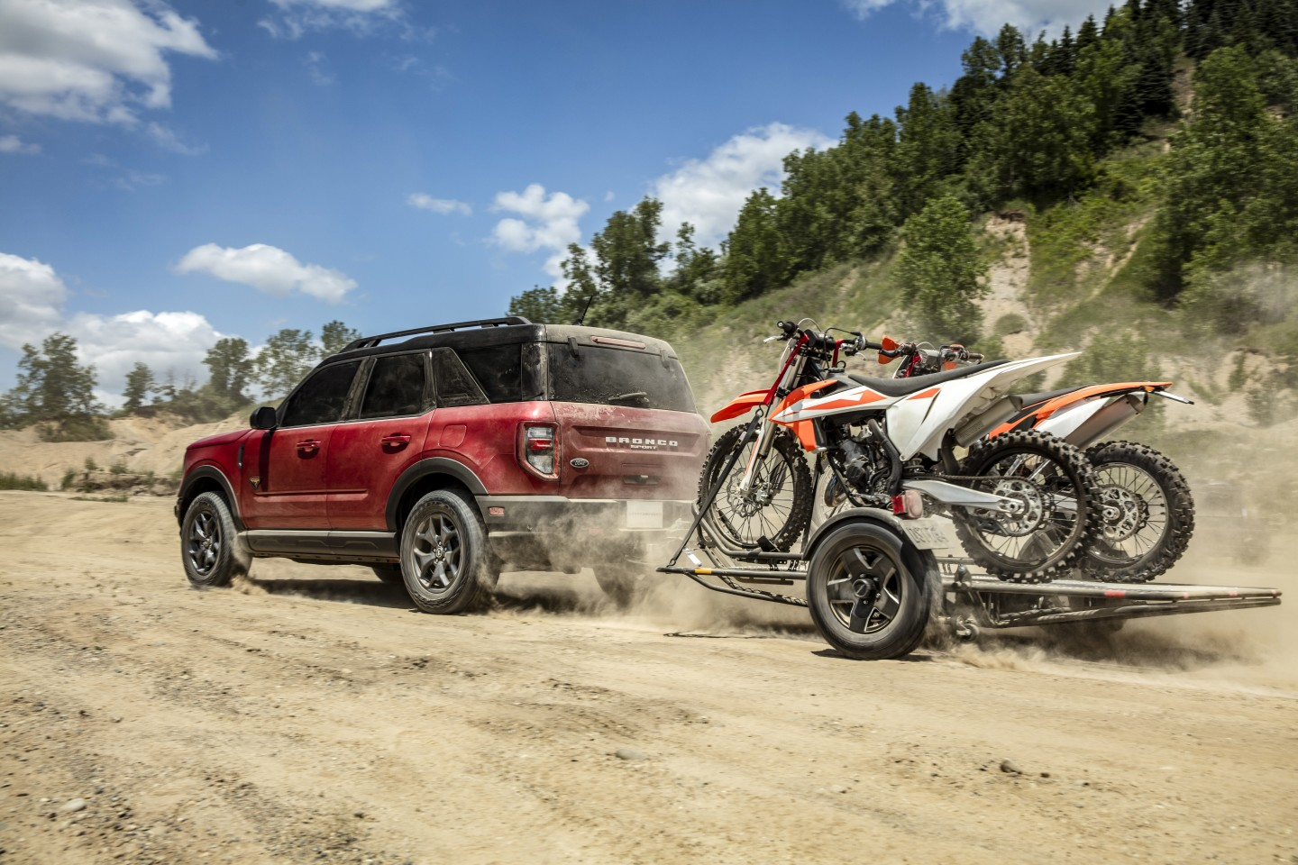 Ford is clearly marketing the adventure lifestyle with the new Bronco Sport