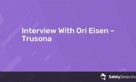 Interview With Ori Eisen – Trusona