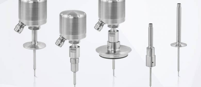 New OPTITEMP Hygienic Temperature Sensors for the Food and Beverage Industry