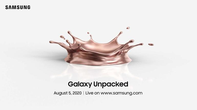 Samsung Galaxy Unpacked 2020 virtual event confirmed for August 5th
