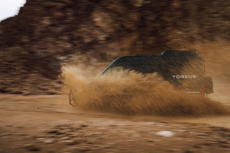 The Torsus Terrastorm gets dirty enough for a proper teaser photo