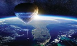 Up, up, and away: A cosmic balloon ride to the edge of space
