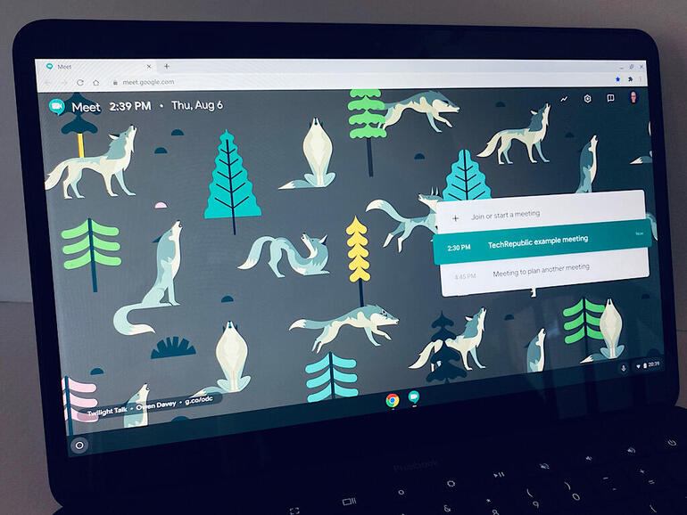 7 tips for using Google Meet on a Chromebook