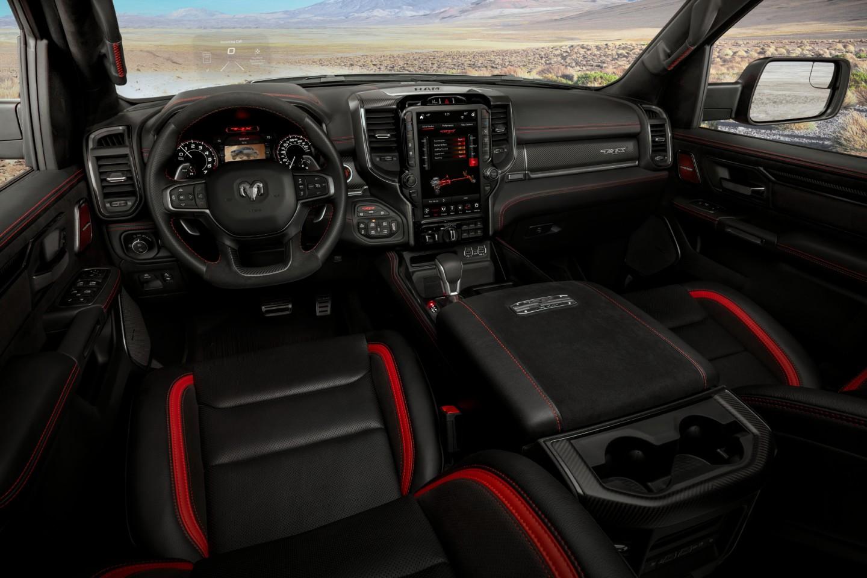 Inside the 2021 Ram 1500 TRX