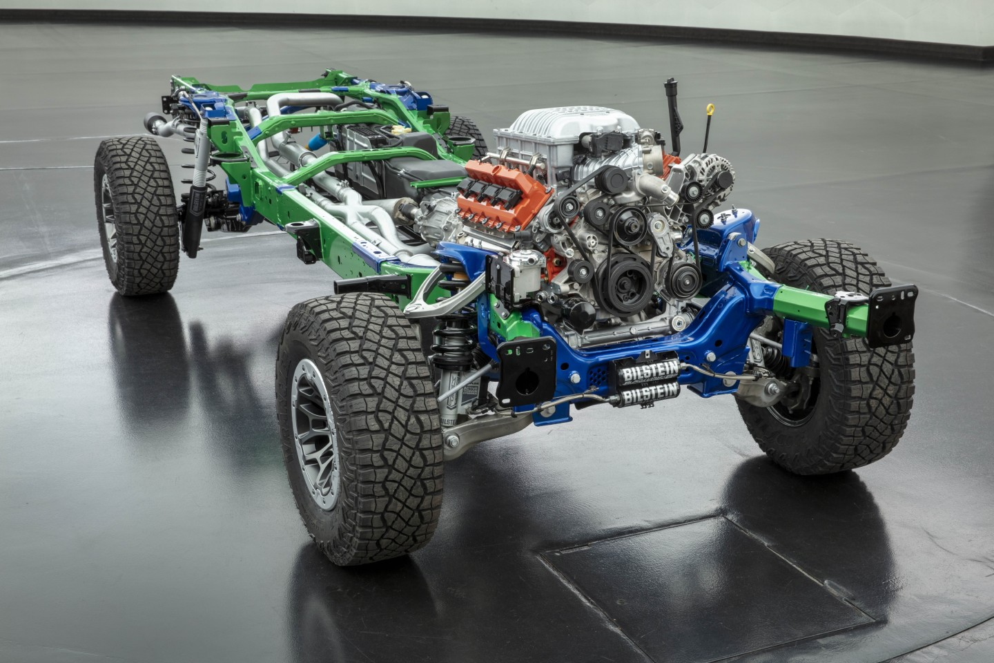 2021 Ram 1500 TRX rolling chassis