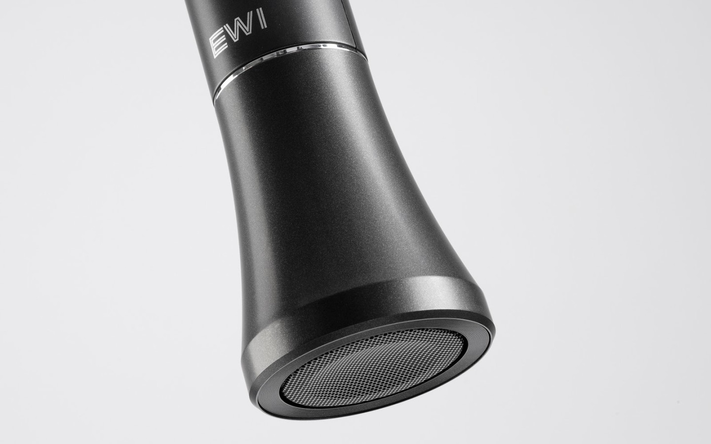 The EWI Solo features its own speaker for play anywhere convenience
