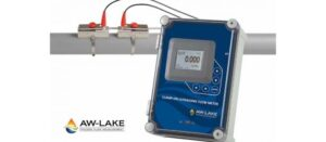 AW-Lake Introduces Clamp-on Ultrasonic Flow Meters that Install on the Outside of Pipes Without System Shutdown