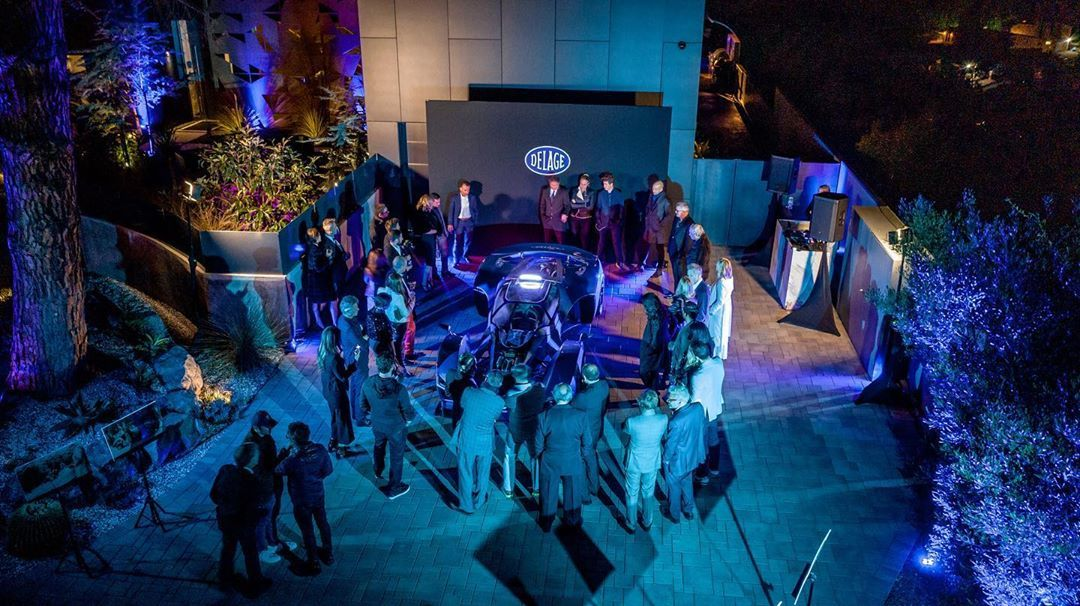 The D12 has attracted attention at exclusive launch events in the Hollywood Hills