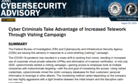 FBI, CISA Echo Warnings on 'Vishing' Threat
