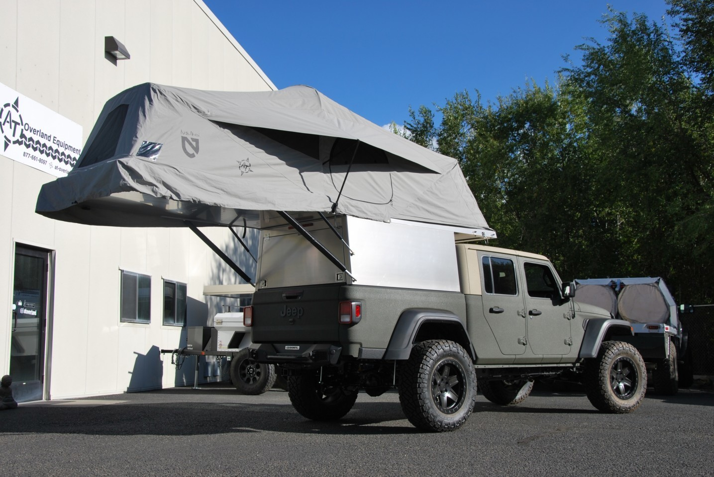 AT Overland launched the first Gladiator Habitat last year