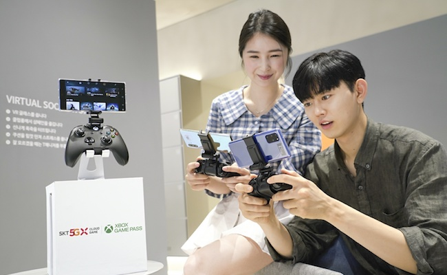 Microsoft, SKT set date for 5G cloud gaming launch