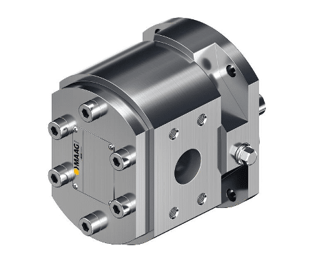 The benefit of MAAG Group industrial gear pumps The great benefit of MAAG gear pumps is the fact that a wide range of components and materials is available. Each pump is configured to meet your requirements making it superior to standard pumps in terms of performance and reliability.