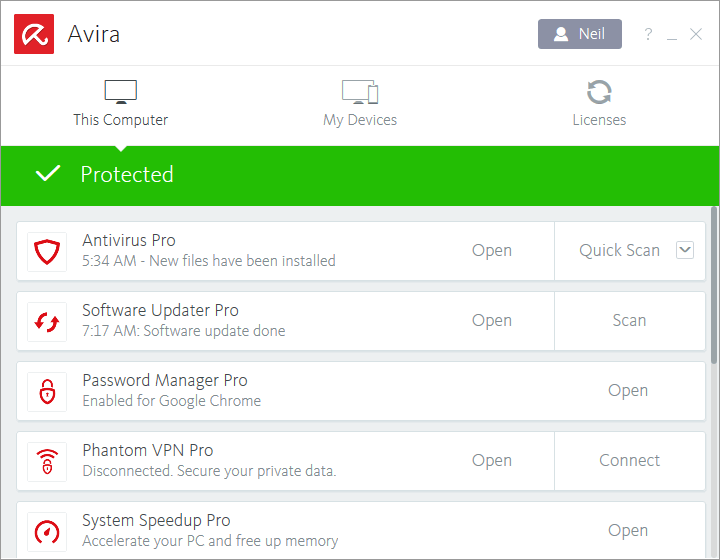 🥉3. Avira — Best for Advanced Privacy Protection