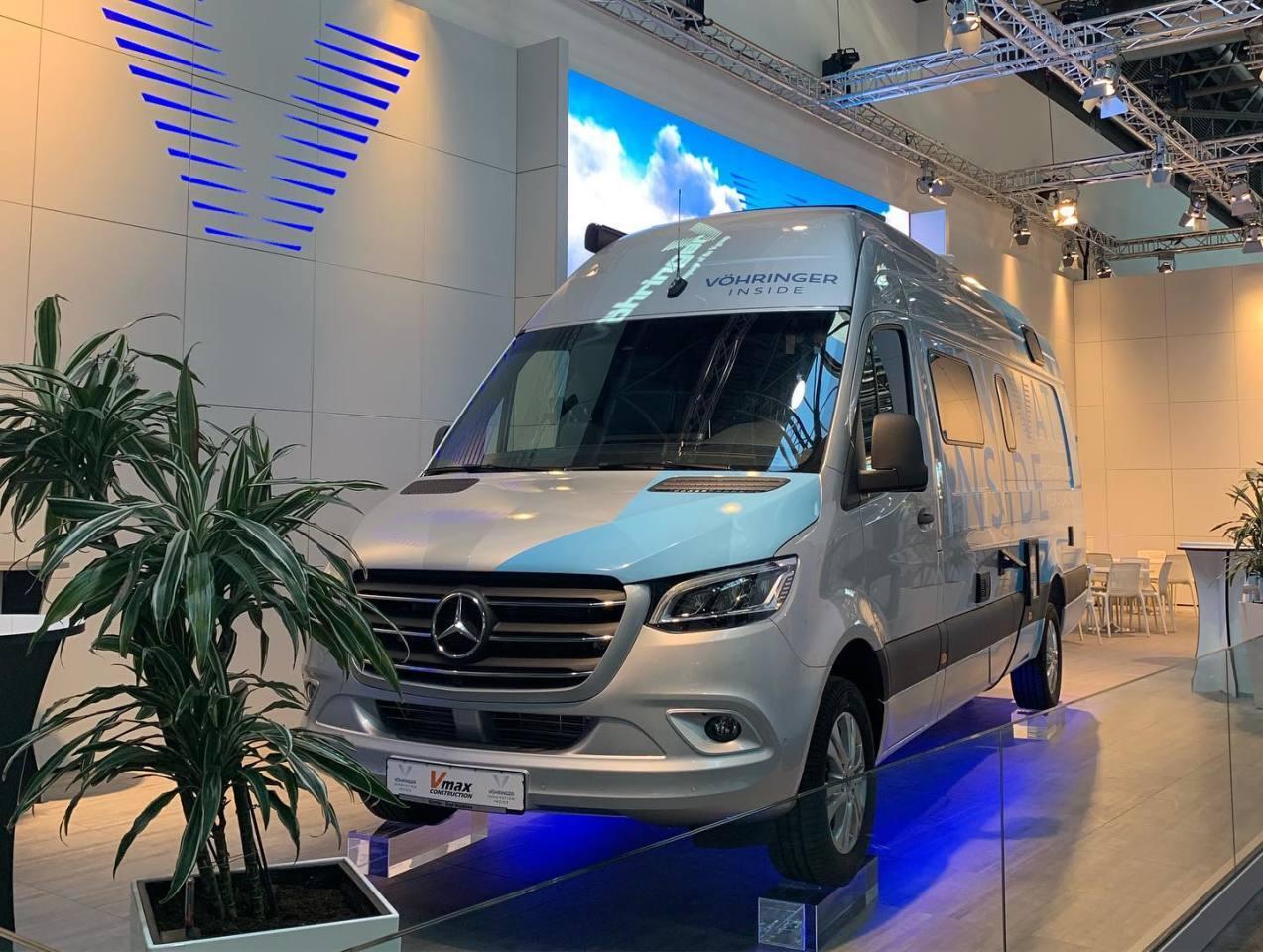 Vöhringer shows the ConceptVan 2020 at the 2019 Düsseldorf Caravan Salon