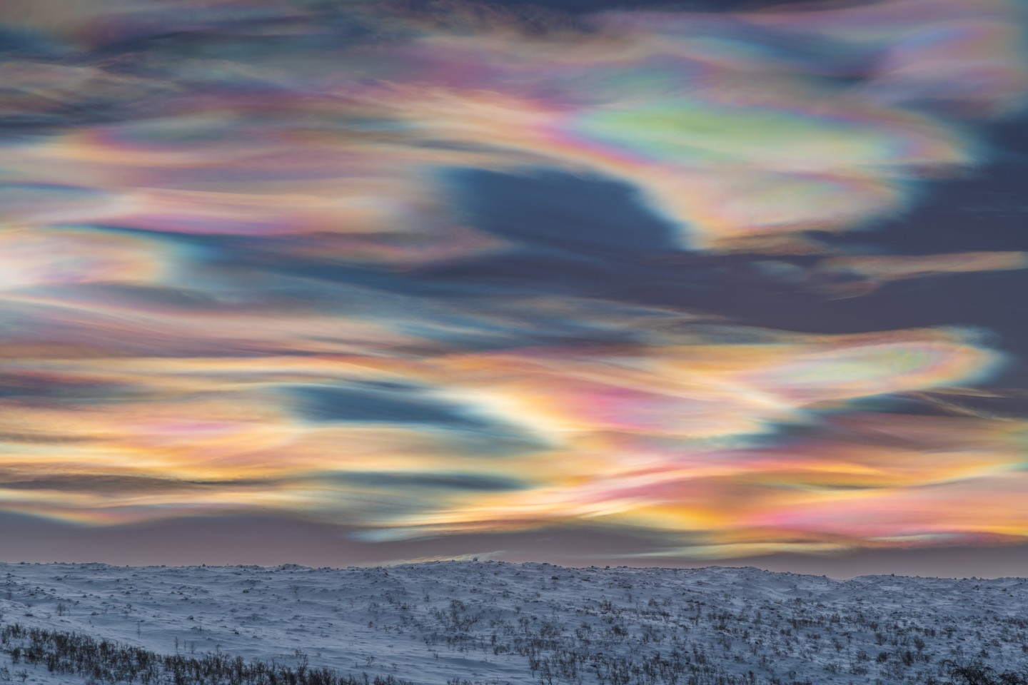 Winner - Skyscapes. Painting the Sky. Finnish Lapland