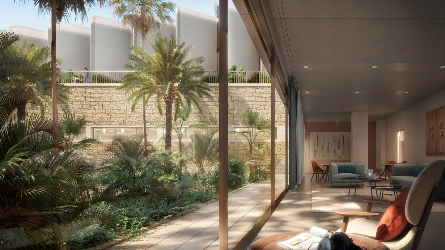 The Magdi Yacoub Global Heart Centre will open onto terrace areas