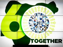 President Muhammadu Buhari today said Nigerians chose the nation's Diamond Jubilee logo in an internet challenge, ahead of the October 1 National Day.