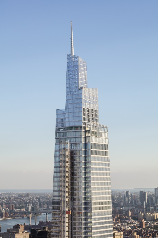 One Vanderbilt is the fifth-tallest skyscraper in the United States