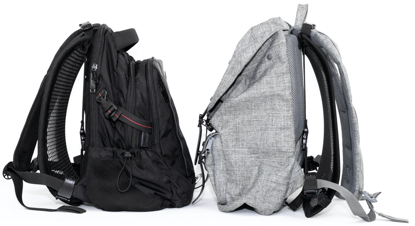 The VentaPak is said to be compatible with a wide range of backpacks