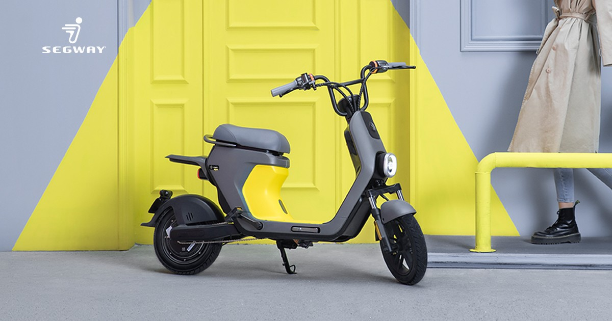 Segway has put the eMoped C80 up for pre-order on Indiegogo