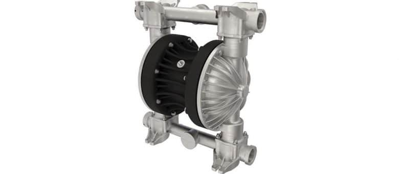 Stainless Steel Air Operated Diaphragm Pump for Effluent Transfer at Unilever