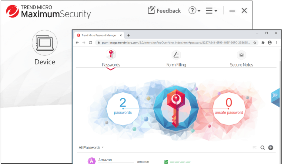 Trend Micro Premium Security Suite — Best for Keylogging Protection