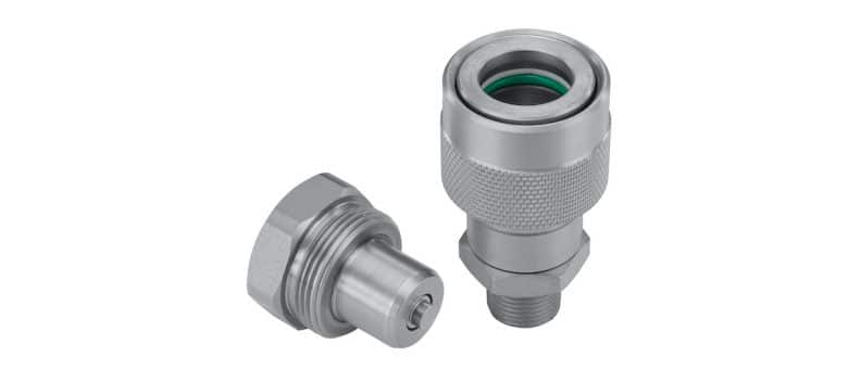 Corrosion-Resistant Threaded Coupling from Stauff for 720 Bar Operating Pressure