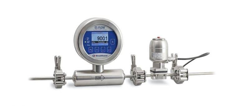 Flow Meter/Controller Meets 3-A Sanitary Standards