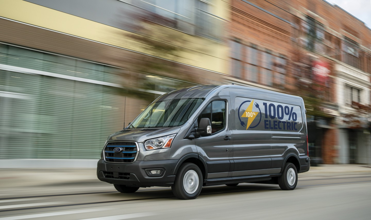 The Ford E-Transit will offer up to 126 miles of range, according to Ford's estimate