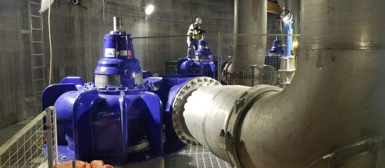 KSB Sewatec Pumps Contribute To Lake Ontario Clean-up