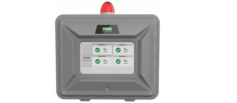 New Remote Display for Chillgard® 5000 Leak Monitors Shows Gas Readings & More While Safely Away from Hazardous Areas