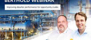 "Live Webinar ""Improving Desalter Performance for Opportunity Crudes"""